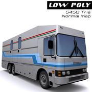 TV-buss 3d model