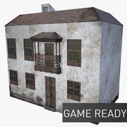 Old House Ver.1 (Game Ready) 3d model