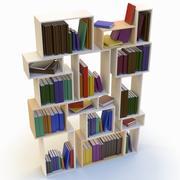 Estante para libros modelo 3d