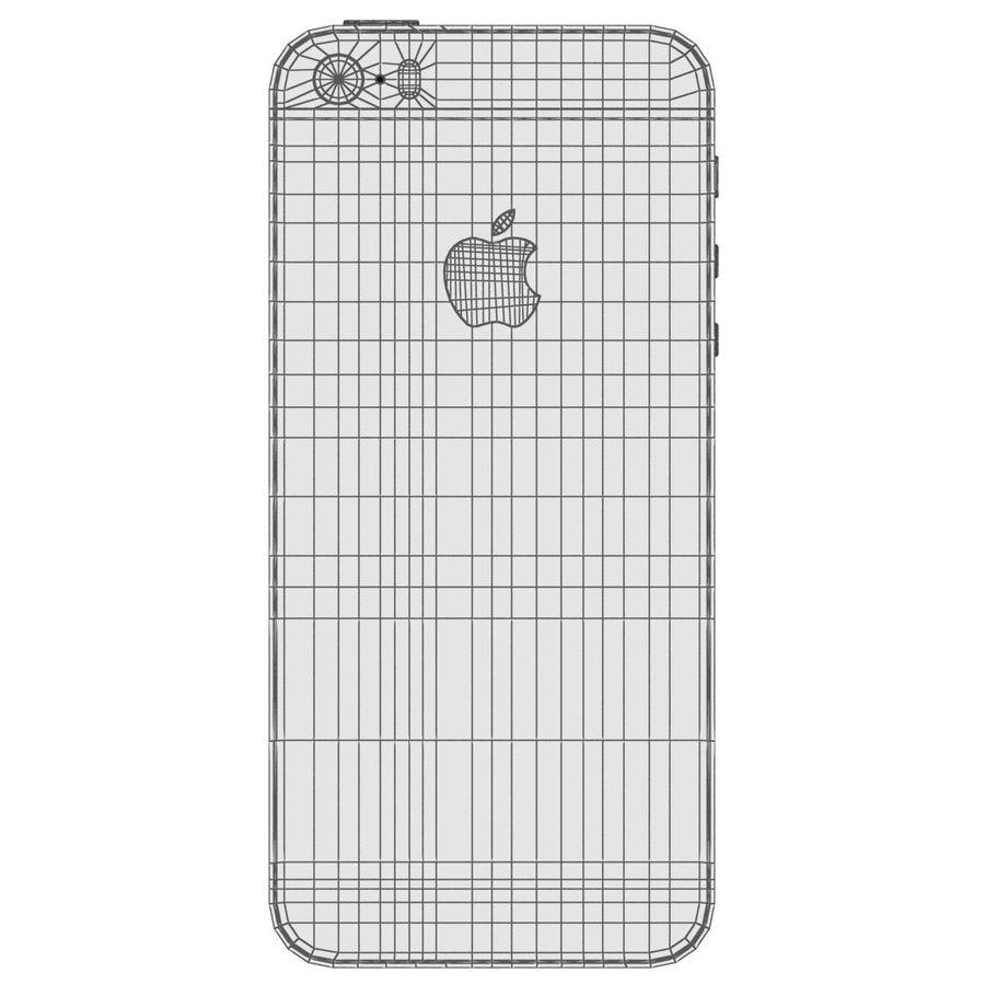 Apple iPhone SE Cinza Espaço royalty-free 3d model - Preview no. 33