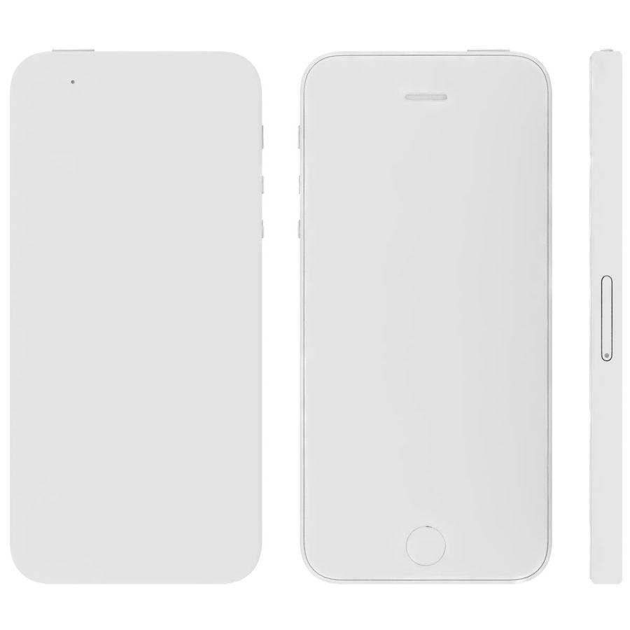 Apple iPhone SE Cinza Espaço royalty-free 3d model - Preview no. 31