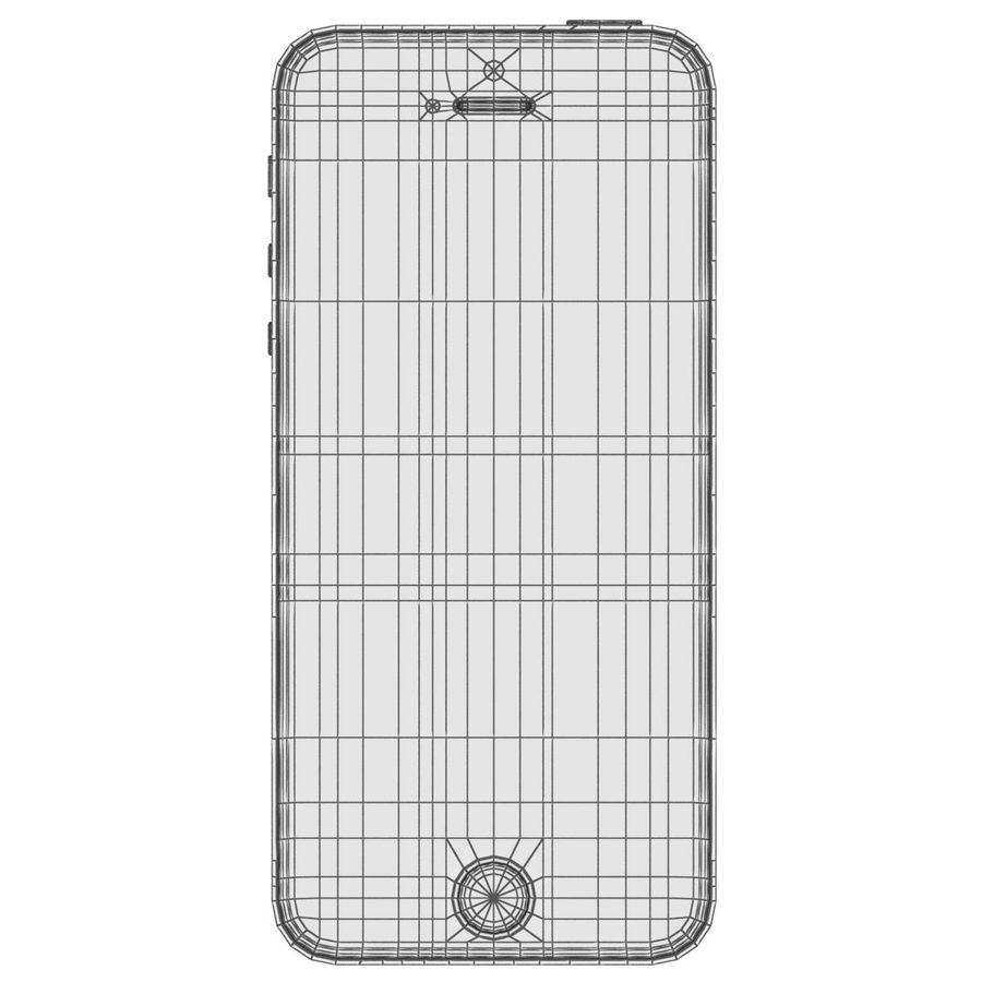 Apple iPhone SE Cinza Espaço royalty-free 3d model - Preview no. 32