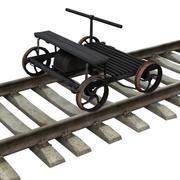 Wózek 3d model