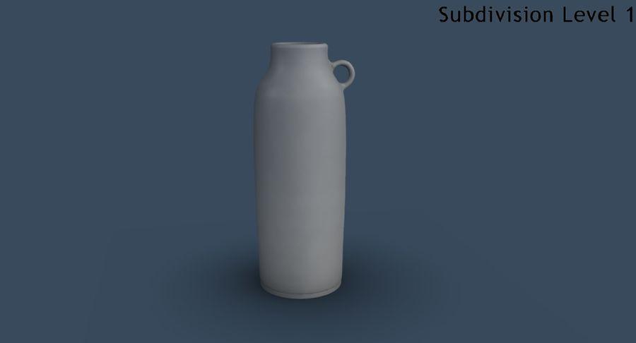 Bottle Ceramic royalty-free 3d model - Preview no. 15