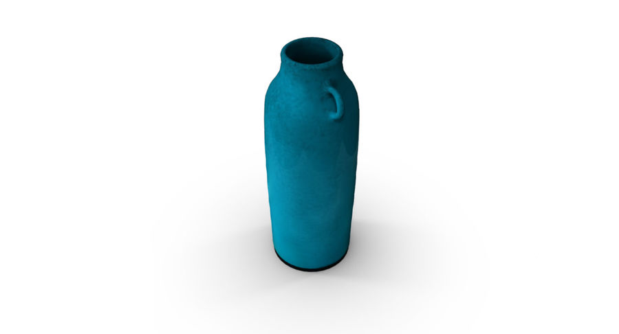 Bottle Ceramic royalty-free 3d model - Preview no. 5