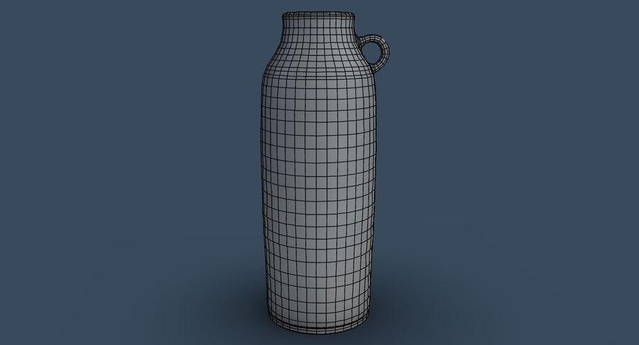 Bottle Ceramic royalty-free 3d model - Preview no. 8