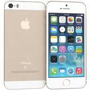 Apple iPhone SE Gold modelo 3d