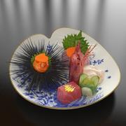 22_Japanese_Seafood_Combine 3d model
