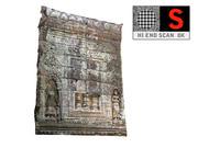 Kambodscha-Tempelwand 8K 3d model