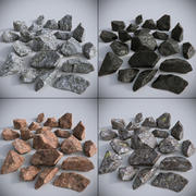 Stenen-collectie 02 3d model