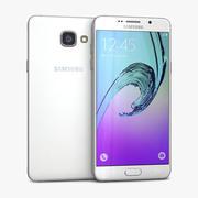 Samsung Galaxy A5 2016 화이트 3d model