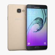 Samsung Galaxy A5 2016 Gold 3d model