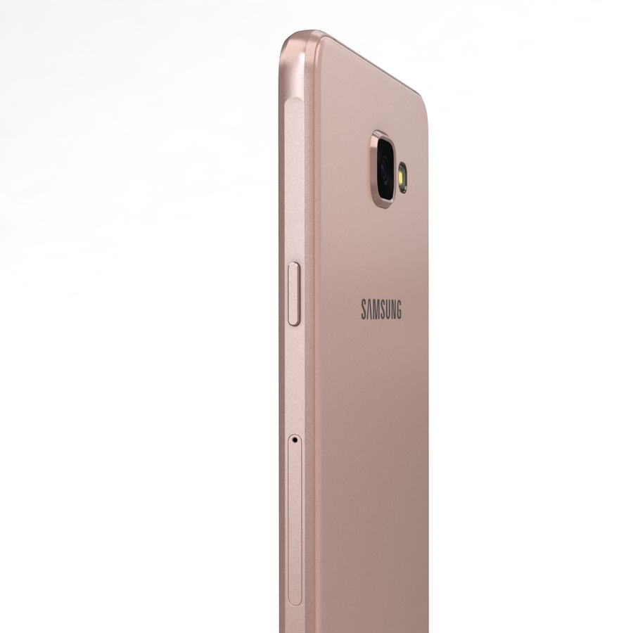 Samsung Galaxy A5 2016 Pink royalty-free 3d model - Preview no. 16