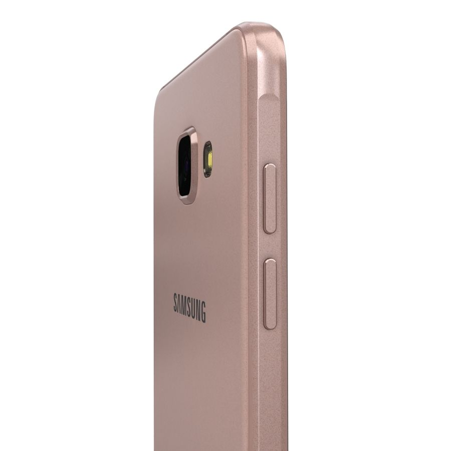 Samsung Galaxy A5 2016 Pink royalty-free 3d model - Preview no. 17