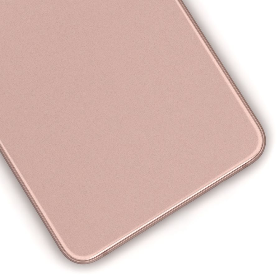 Samsung Galaxy A5 2016 Pink royalty-free 3d model - Preview no. 14
