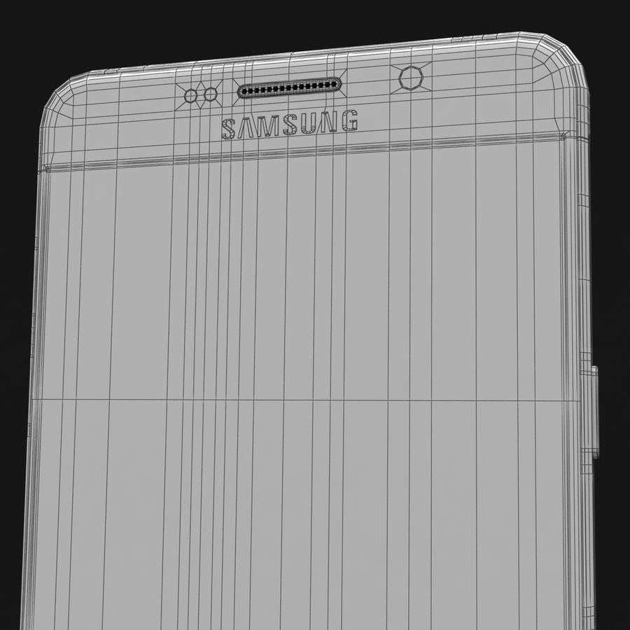 Samsung Galaxy A5 2016 Pink royalty-free 3d model - Preview no. 41