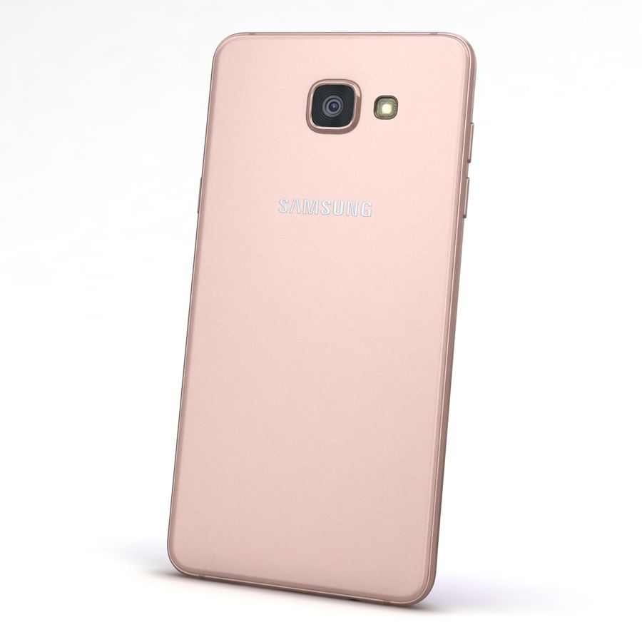 Samsung Galaxy A5 2016 розовый royalty-free 3d model - Preview no. 6