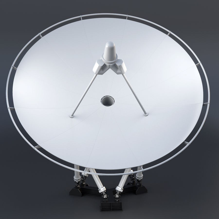 Satellite Dish royalty-free 3d model - Preview no. 4
