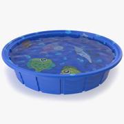 Piscine pour enfants 3d model