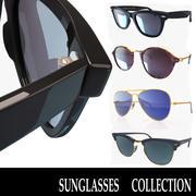 kolekcja okularów przeciwsłonecznych 3d model