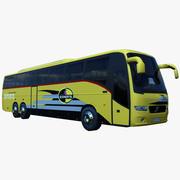 Автобус Volvo 9700 3d model