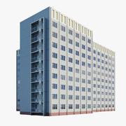 Edificio residencial modelo 3d
