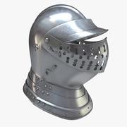 Medieval Helmet Burgonet 3d model