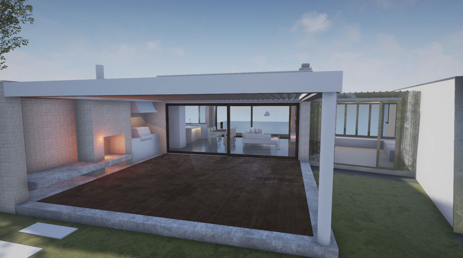 Mimar Ev royalty-free 3d model - Preview no. 5