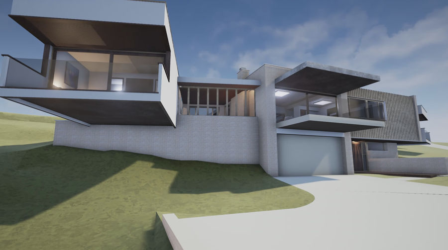 Mimar Ev royalty-free 3d model - Preview no. 1