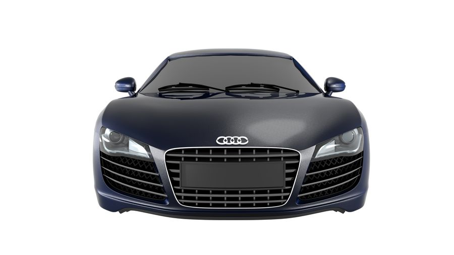 Audi R8 royalty-free 3d model - Preview no. 9