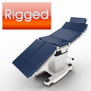 Operating Table -Rigged- 3d model