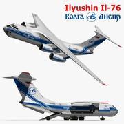 Ilyushin Il76 3d model