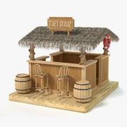 Tiki Bar 3d model