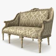 Sofá de luxo _ 025 3d model