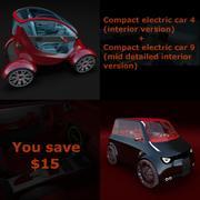 Podwójny pakiet samochodów 1 3d model