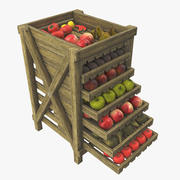 Fruit Box 3d model