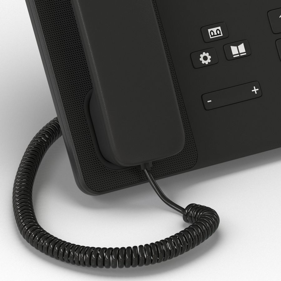 Telefone IP Cisco 8865 royalty-free 3d model - Preview no. 11