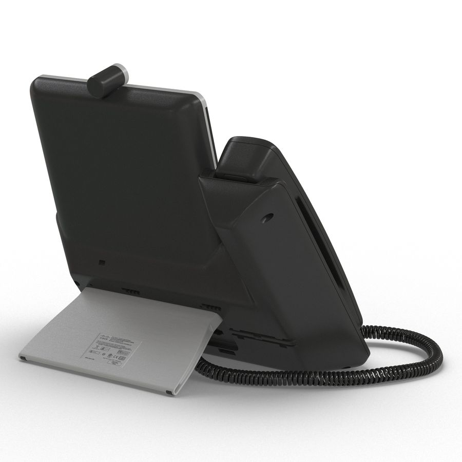 Telefone IP Cisco 8865 royalty-free 3d model - Preview no. 6