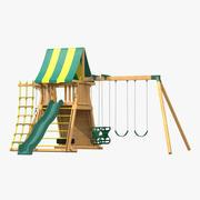 Jungle Gym 3d model