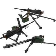 M2 50Cal Machinegun 3d model