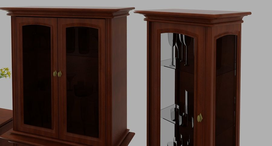 Classic Furniture(1) royalty-free 3d model - Preview no. 8