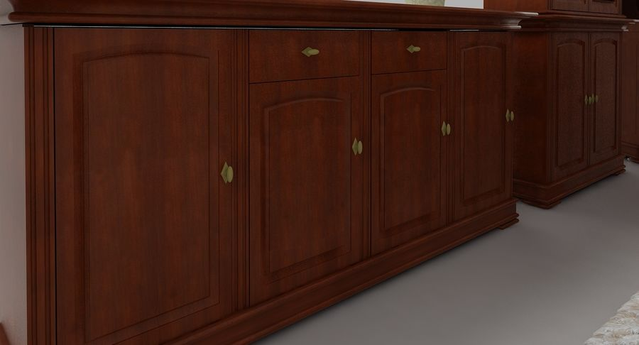 Classic Furniture(1) royalty-free 3d model - Preview no. 9