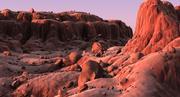 Mountain Terrain Landscape 3d model