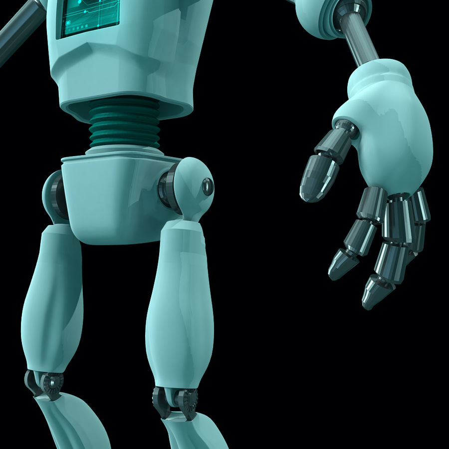 Android royalty-free 3d model - Preview no. 5