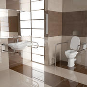 Bathroom for the disabled collection 3d model