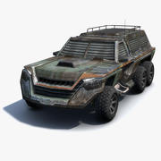 Militärauto SUV 3d model