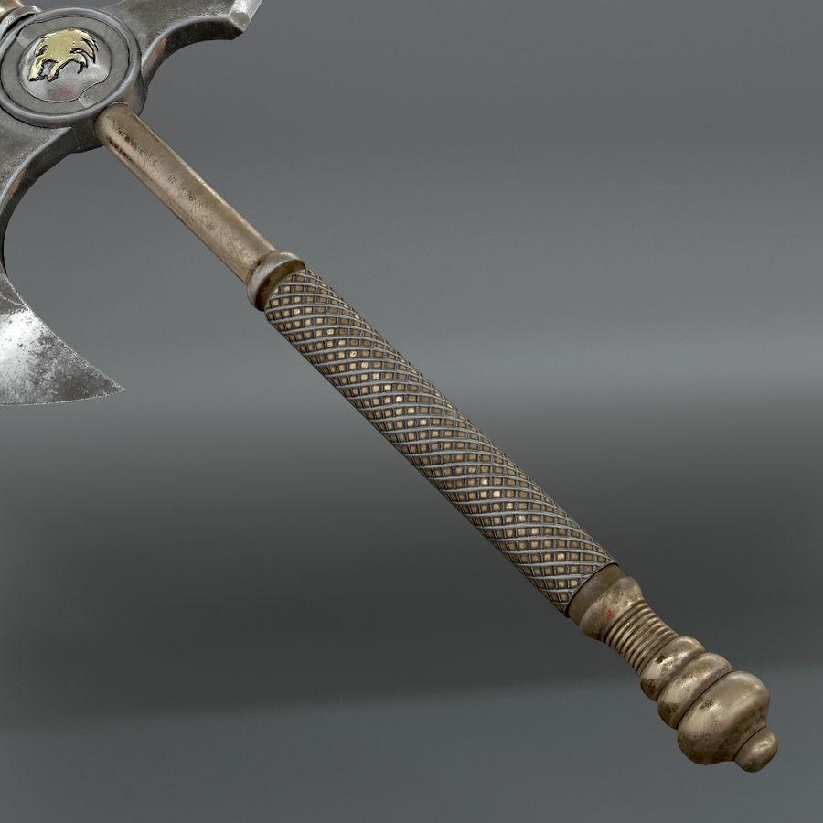 Set de armas de corte royalty-free modelo 3d - Preview no. 21