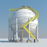 ガス貯蔵 3d model