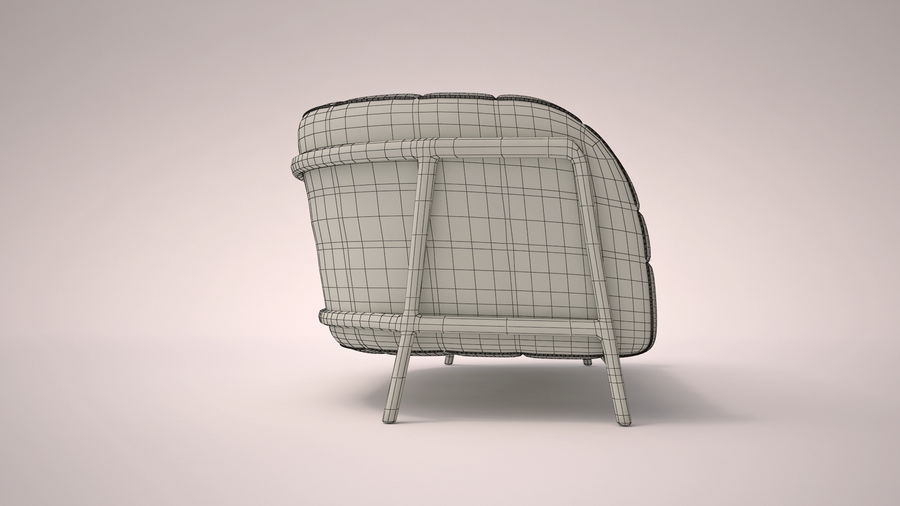 Italien soffa 5 royalty-free 3d model - Preview no. 6