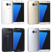 삼성 Galaxy S7 모든 색상 3d model